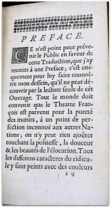 lesage alain rene le theatre espagnol/préface