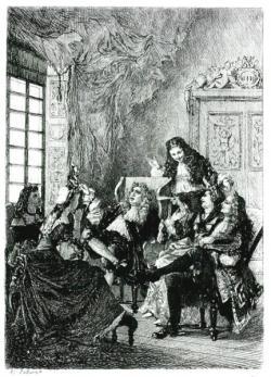 La critique de l ecole des femmes par lalauze